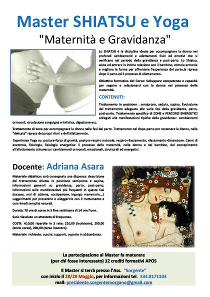 seminari di shiatsu: maternità e gravidanza